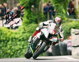 Ian Hutchinson - Union Mills - TT 2015 - 16 x 12 Autographed Picture
