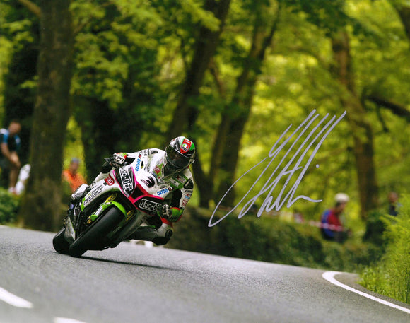 James Hillier - Union Mills - TT 2016 - 10 x 8 Autographed Picture