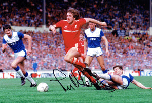 Jan Molby - Liverpool F.C. - 1986 F.A. Cup Winner - 12 x 8 Autographed Picture