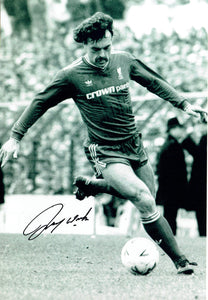 John Wark - Liverpool F.C. - 12 x 8 Autographed Picture