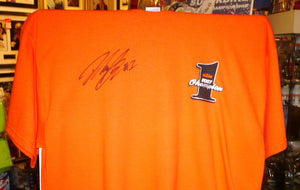David Knight - World Enduro Champion - KTM T-Shirt - 12 x 8 Autographed Picture