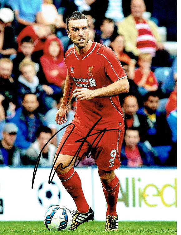 Rickie Lambert - Liverpool F.C. - 10 x 8 Autographed Picture