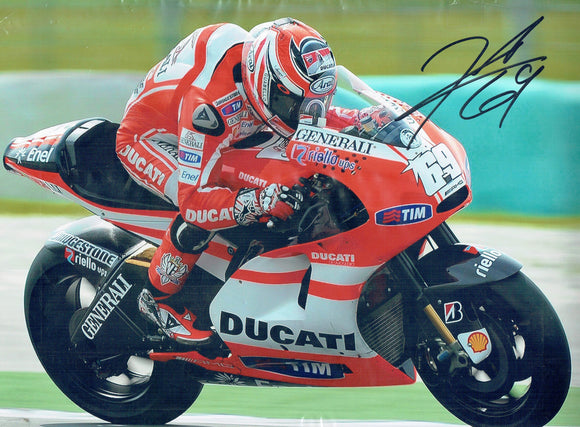 Nicky Hayden - Moto GP - 2006 Moto GP World Champion - 16 x 12 Autographed Picture