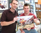 David Knight - World Enduro Champion - KTM 2 - 16 x 12 Autographed Picture