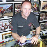 Ian Lougher - Ballaugh Bridge - TT 2008 - 16 x 12 Autographed Picture