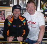Bruce Anstey - Creg Na Baa - TT 2011 - 12 x 8 Autographed Picture