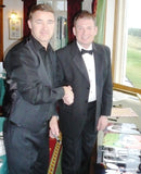 Jimmy White & Stephen Hendry  - 16 x 12 Autographed Picture