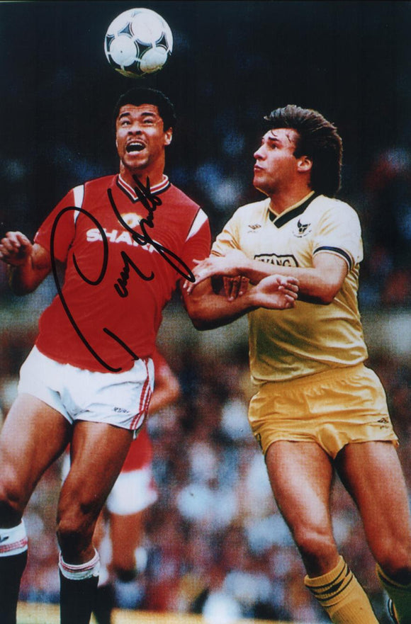 Paul McGrath - Manchester United - 7 x 5 Autographed Picture