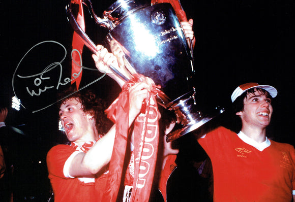 Phil Neal - Liverpool F.C. - European Cup Winner - 12 x 8 Autographed Picture