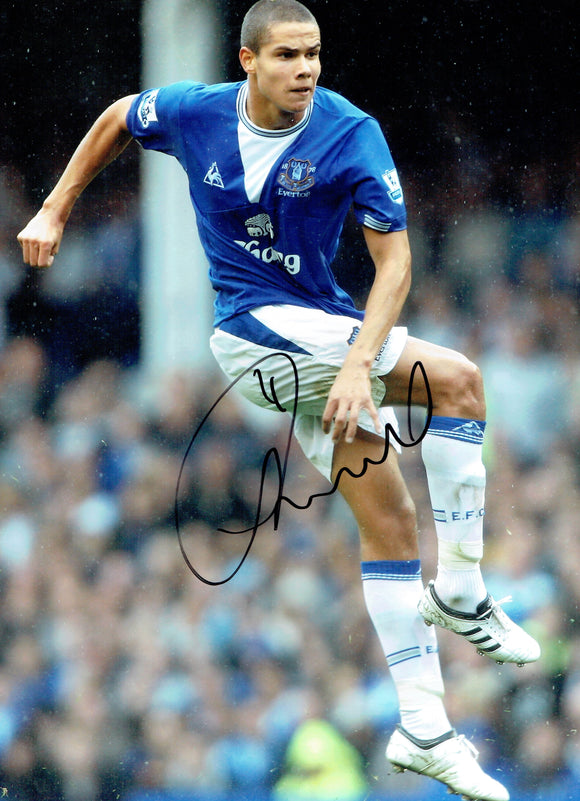 Jack Rodwell - Everton F.C.  - 16 x 12 Autographed Picture