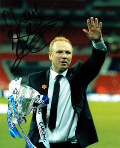 Alex McLeish  - Birmingham City - 10 x 8 Autographed Picture