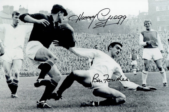 Harry Gregg & Bill Foulkes - Manchester United - 15 x 12 Autographed Picture