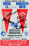 Manchester United v Benfica - Multi Signed 1968 European Cup Final Programme