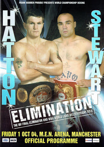 "Ricky ""The Hitman"" Hatton v Michael Stewart Fight Programme"