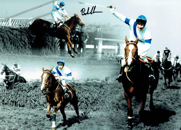 Bob Champion - Grand National Winner - 16 x 12 Autographed Picture