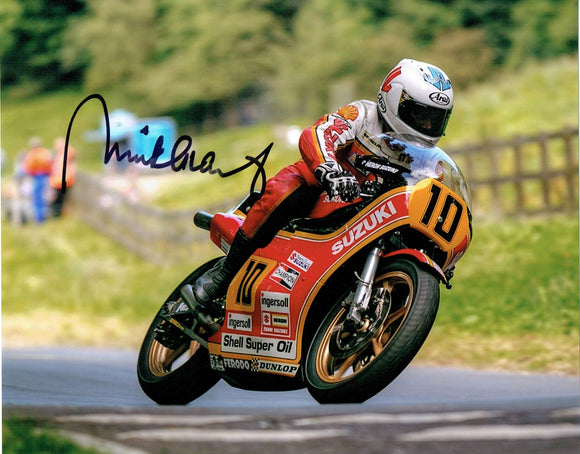 Mick Grant - Olivers mount - 12 x 8 Autographed Picture