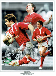 Shane Willaims - Wales - 16 x 12 Autographed Print