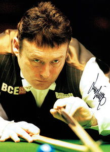 Jimmy White M.B.E. - 16 x 12 Autographed Picture