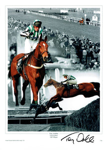 Tony Dobbin - Grand National Winner - 16 x 12 Autographed Picture