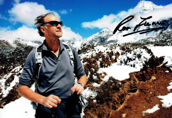 Sir Ranulph Fiennes - Everest 3 - 12 x 8 Autographed Picture