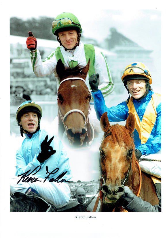 Kieren Falloon - Grand National Winner - 16 x 12 Autographed Picture