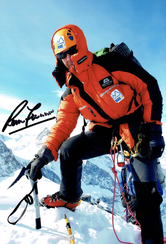 Sir Ranulph Fiennes - Everest 1 - 12 x 8 Autographed Picture