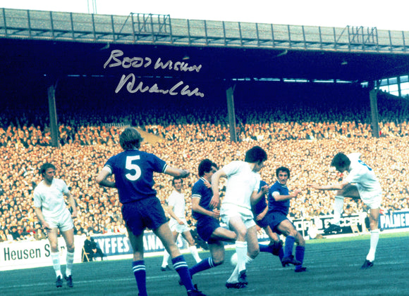 Allan Clarke - Leeds United - 1972 F.A.Cup Final - 16 x 12 Autographed Picture