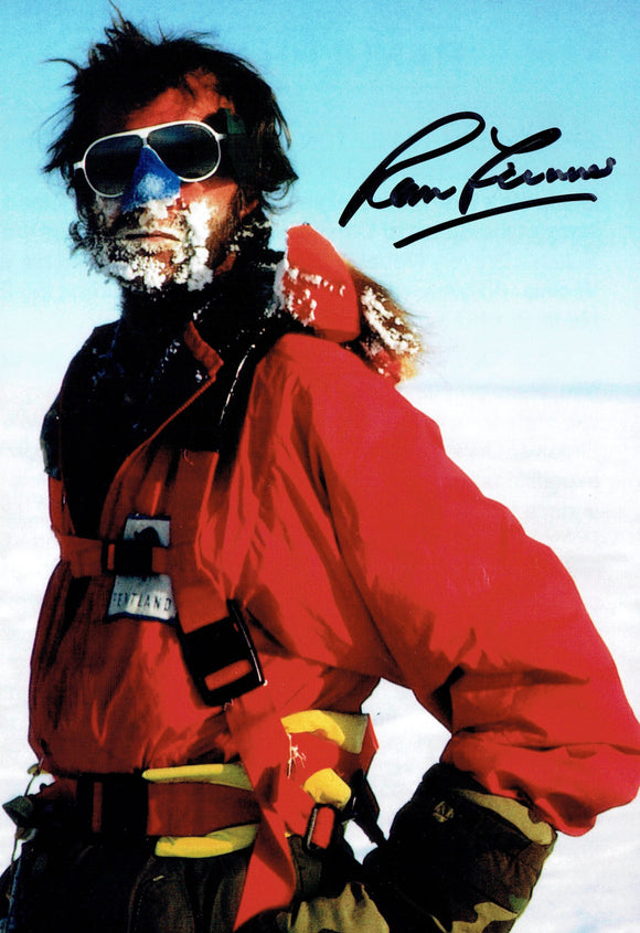 Sir Ranulph Fiennes - Everest 2 - 12 x 8 Autographed Picture