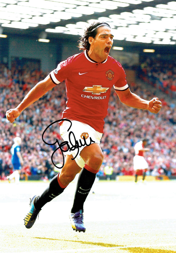 Ramadel Falco - Manchester United - 12 x 8 Autographed Picture