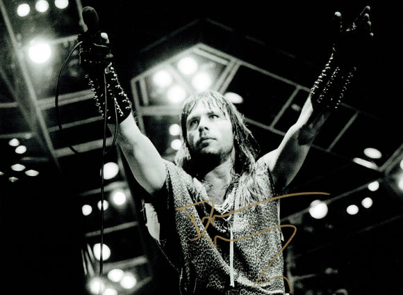 Bruce Dickinson - Iron Maiden 16 x 12 Autographed Photograph