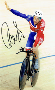 Peter Kennaugh - Team GB - 16 x 12 Autgraphed Picture