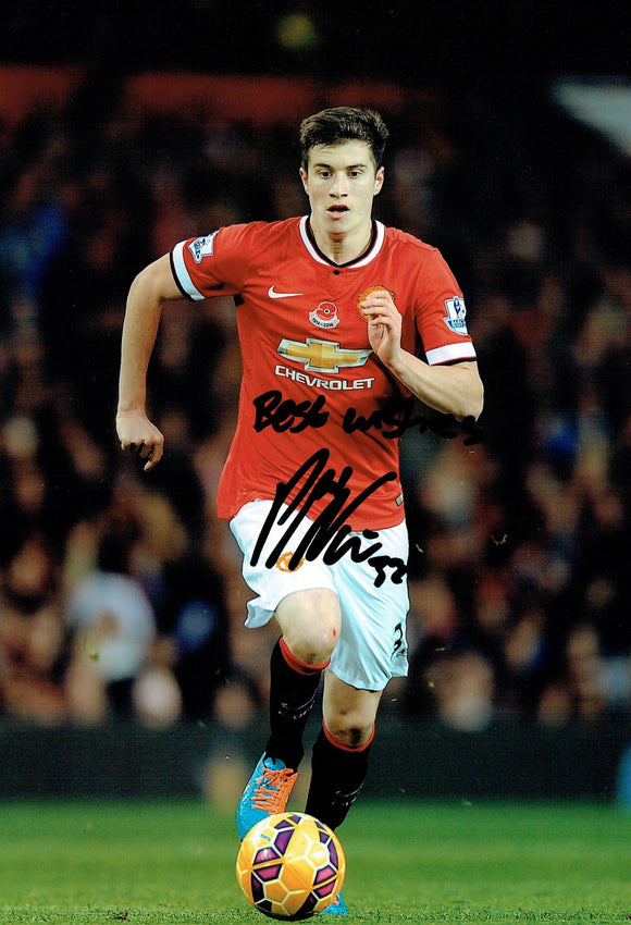 Paddy McNair - Manchester United - 12 x 8 Autographed Picture
