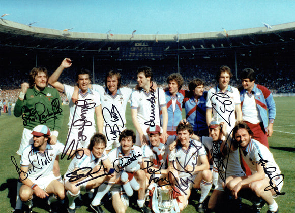 West Ham - 1980 F.A. Cup Winners - 16 - 12 Autographed Picture