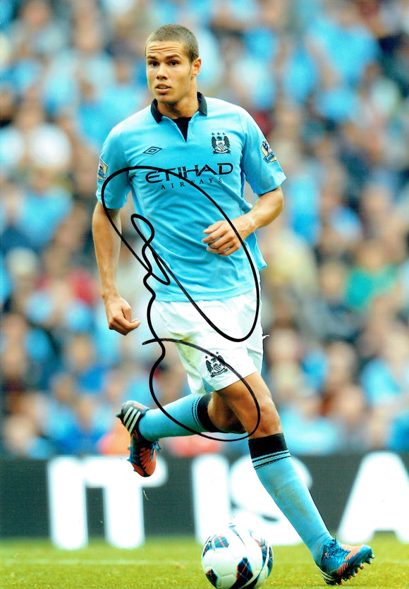 Jack Rodwell - Manchester City - 12 x 8 Autographed Picture