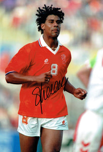 Frank Rijkaard - Holland - 16 x 12 Autographed Picture
