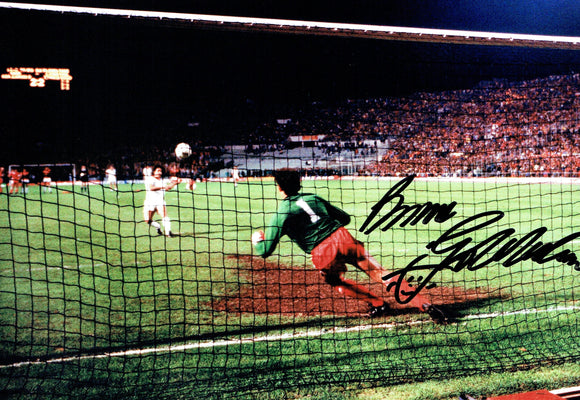 Bruce Grobbelaar - Liverpool - 1984 European Cup Final Winner - 12 x 8 Autographed Picture