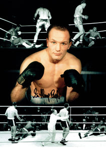 Henry Cooper - 16 x 12 Autographed Picture