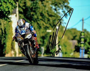 Peter Hickman - Ballagarey Trooper Bike - TT 2019 - 10 x 8 Autographed Picture