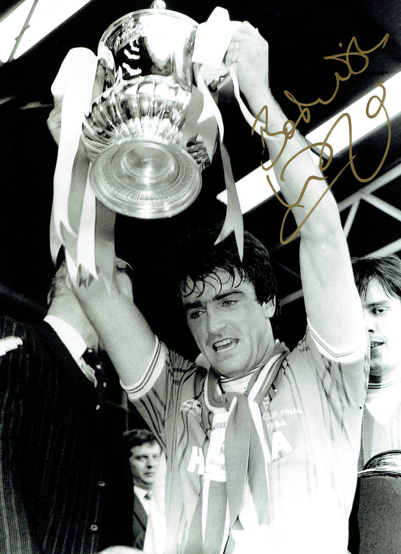 Kevin Ratcliffe - Everton F.C.  - 1984 F.C. Cup Winner - 16 x 12 Autographed Picture