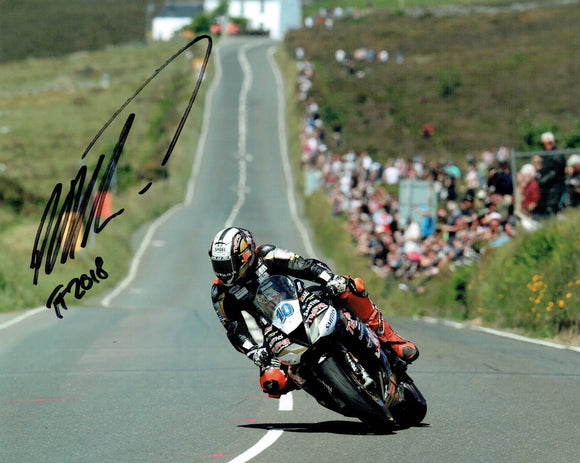 Peter Hickman - Trooper - TT 2018 - 10 x 8 Autographed Picture