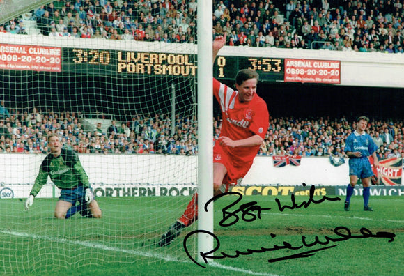 Ronnie Whelan - Liverpool F.C. - 12 x 8 Autographed Picture