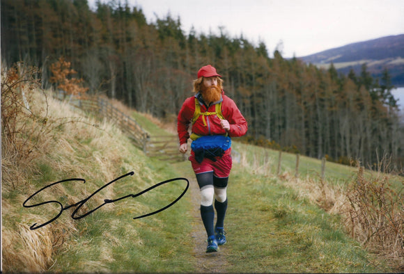 Sean Conway - Round Britain Run - 16 x 12 Autographed Picture