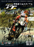 2010 Isle of Man TT Multi Signed Programme (2)