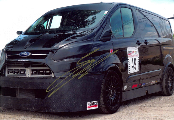 Guy Martin - Transit Van - Speed - 12 x 8 Autographed Picture