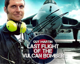 Guy Martin - Vulcan Bomber - Speed 1 - 12 x 8 Autographed Picture