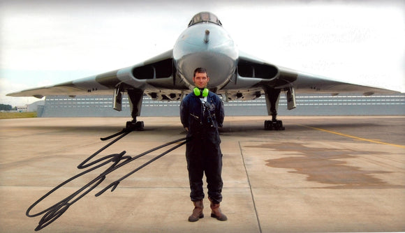 Guy Martin - Vulcan Bomber 2 - Speed - 12 x 8 Autographed Picture