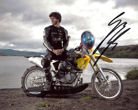 Guy Martin - Aqua Bike - Speed - 10 x 8 Autographed Picture