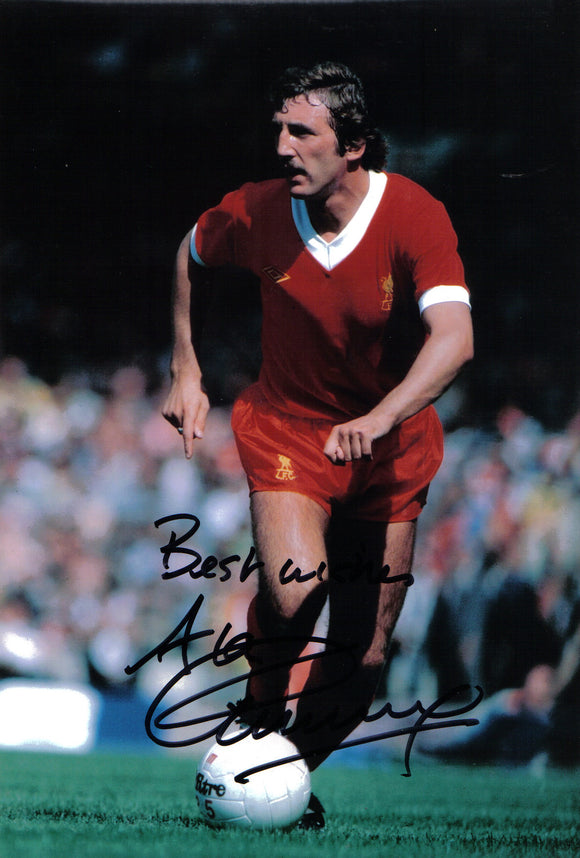 Alan Kennedy - Liverpool - 12 x 8 Autographed Picture