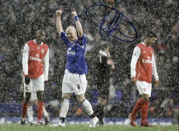 Andy Johnson - Everton  - 16 x 12 Autographed Picture