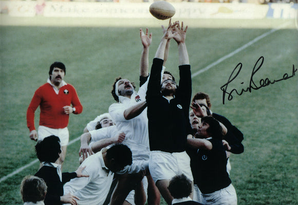 Bill Beaumont - England - 12 x 8 Autographed Picture